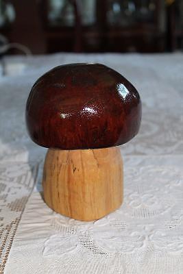 Hand Carved Mushroom