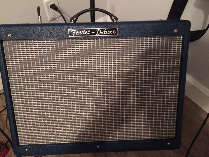 Fender Deluxe Limited Edition Blue