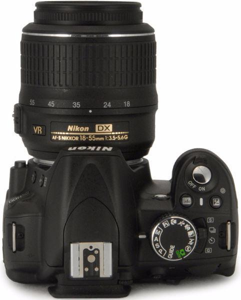 REDUCED - Nikon D3100 Digital SLR Camera, Black