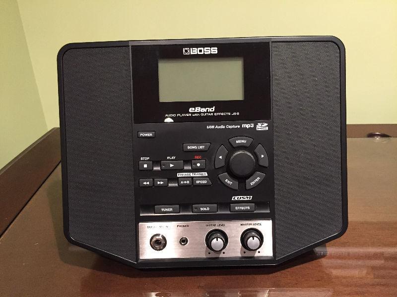 Boss Eband JS8 quitar AMP