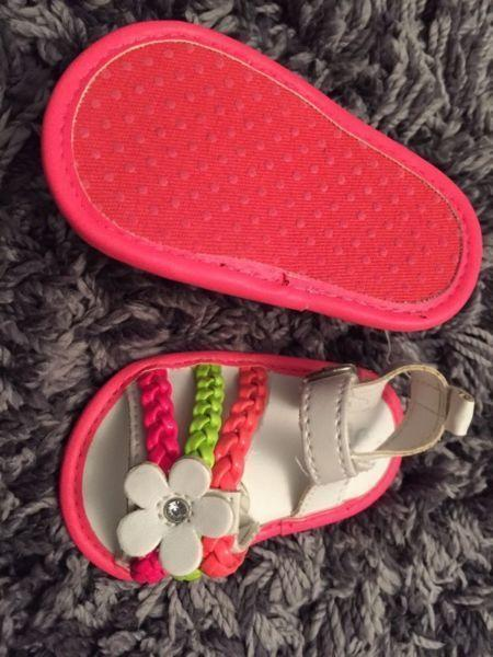 Infant baby girl shoes