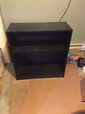 Gently used book cases