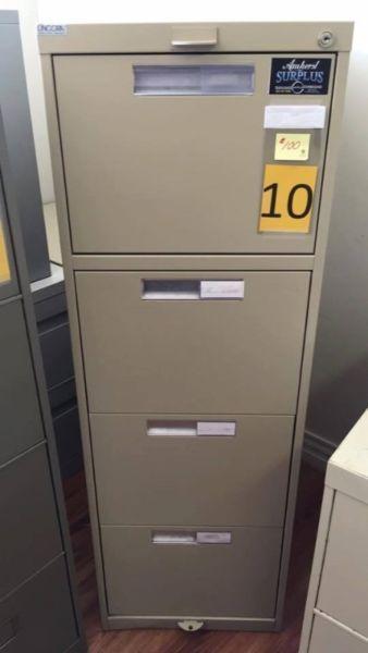 4 Drawer Vertical Filing Cabinets