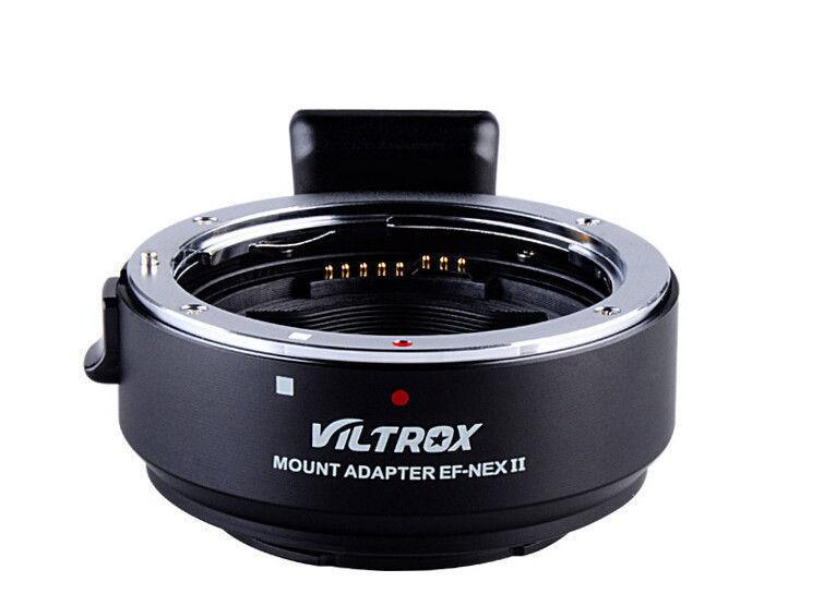 Viltro Canon EF-NEX II (Sony E-mount) auto focus adapter ring