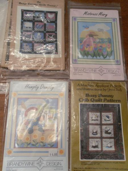 baby and child quilt patterns - 3 for $10