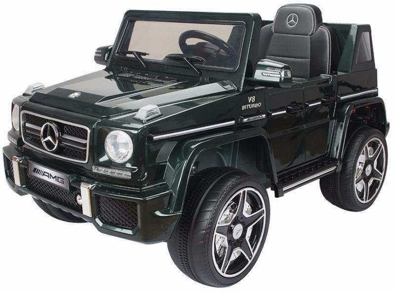 Brand New 12V Mercedes Benz G63 Child Ride On Remote Music Radio