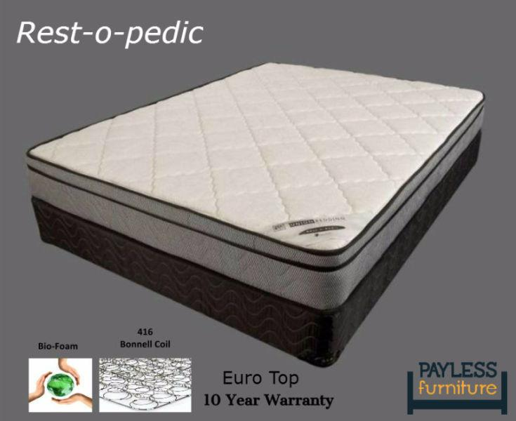NEW Mattress! ★ King size★Euro Top / Pillow top★Can Deliver