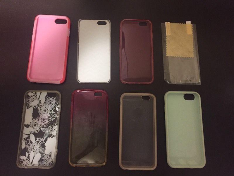 iPhone 6 Phone Cases & Screen Protector $15