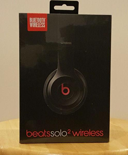 Beats Solo2 Wireless Brand New in Box - Never Opened