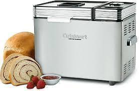 CUISINART CONVECTION BREADMAKER WITH RECEIPE BOOK