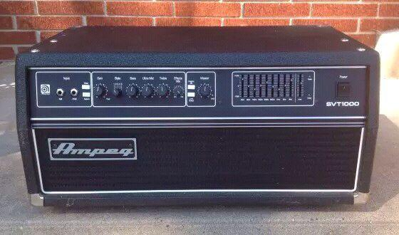 Ampeg's most powerful bass amp - Ever