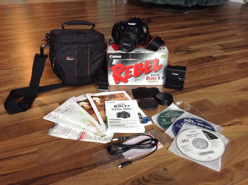 New Canon Rebel Camera Kit