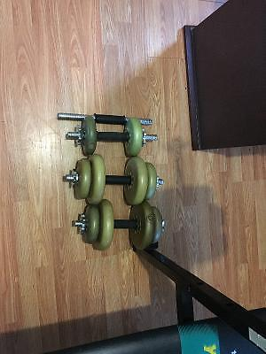 York Weights Bench & Bars