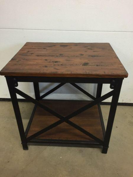 Solid pine side table $200 obo