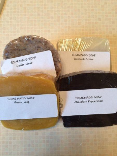 Homemade old fashioned soap