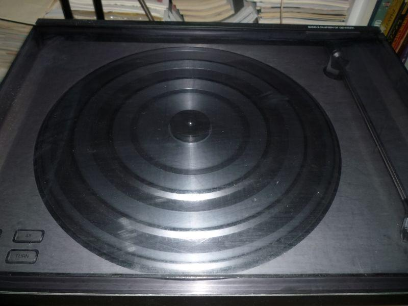 B&O Bang & Olufsen Beogram RX Turntable LP Record Player - Works