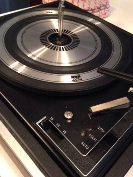 Vintage Lloyds record player turntable