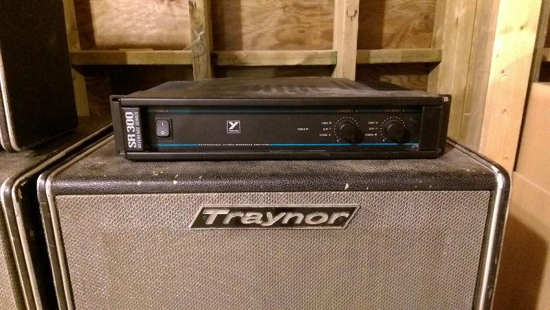 Vintage Traynor PA System
