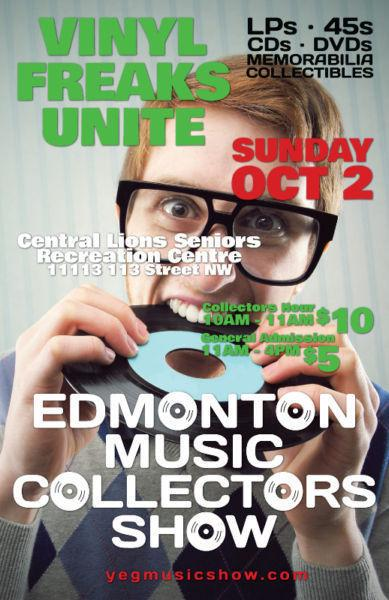 EMCS Vinyl Records LPs 45s CDs ETC. Sunday October 2