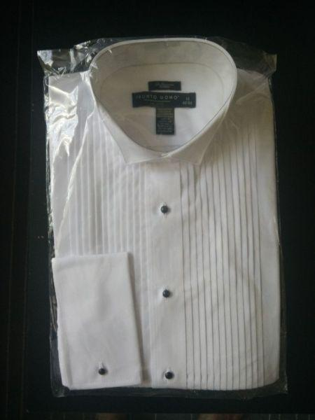 Tuxedo shirts.. Brand new. Never worn