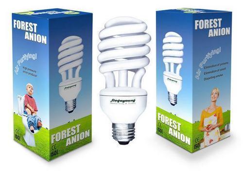 Anion Negative Ion Air Purifying LIght Bulb