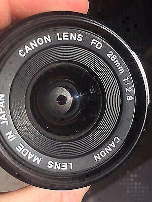 Canon 28mm 2.8 FD with Sony E-Mount