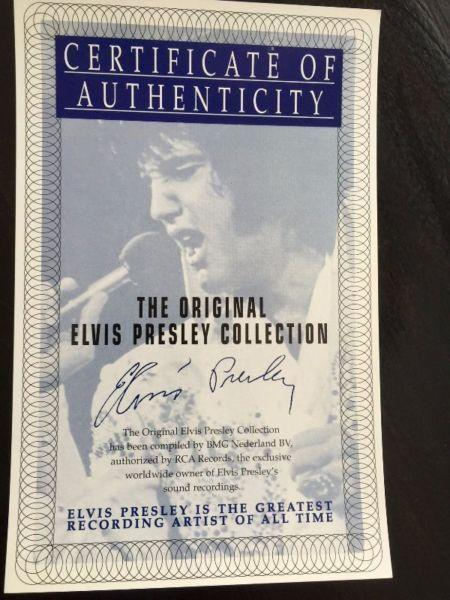 Elvis Presley ‎- The Original Elvis Presley Collection