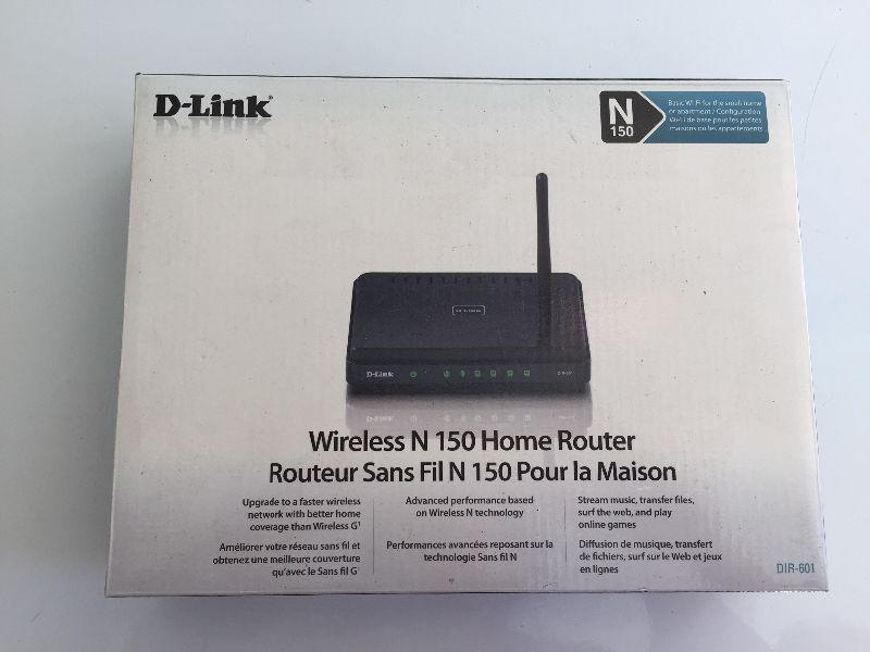 Wireless router brand new