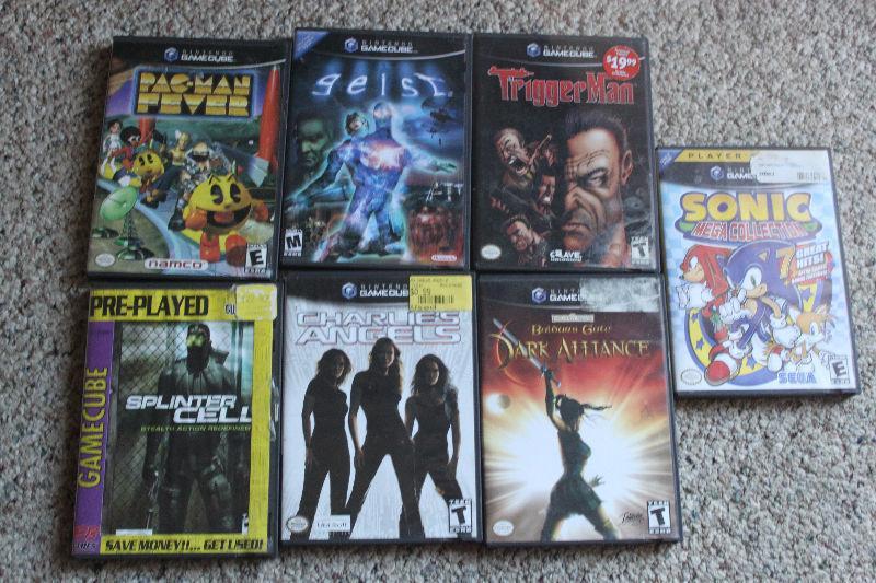 Gamecube games price $1-10