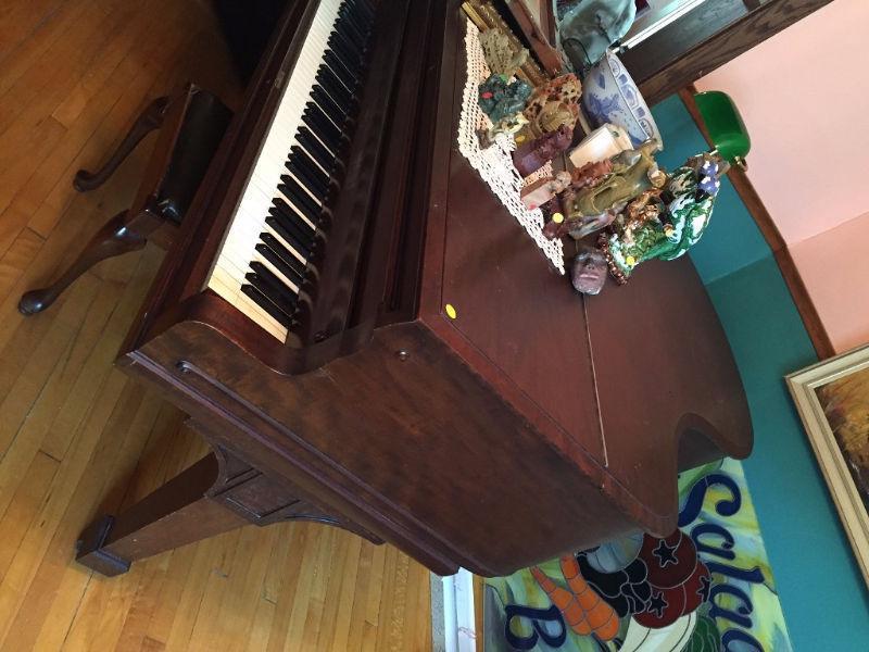 Heintzman baby grand piano