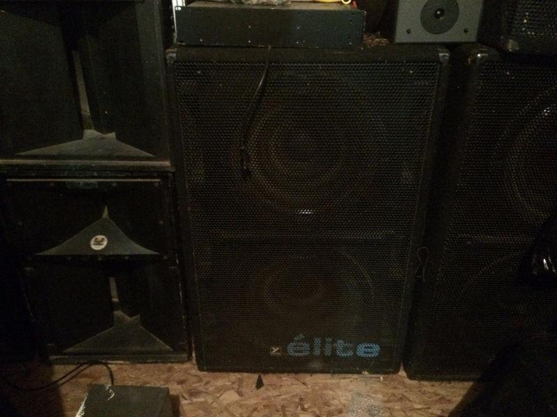 Yorkville Elite non powered bass bins