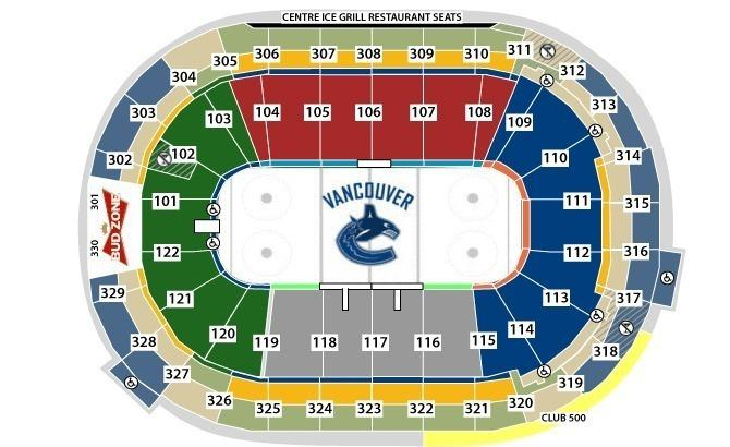 Canucks 2016/17 Tickets - CENTRE ICE GREAT PRICES!!