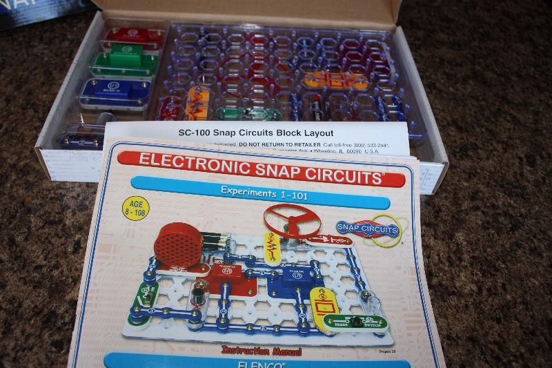 Snap Circuit electronics