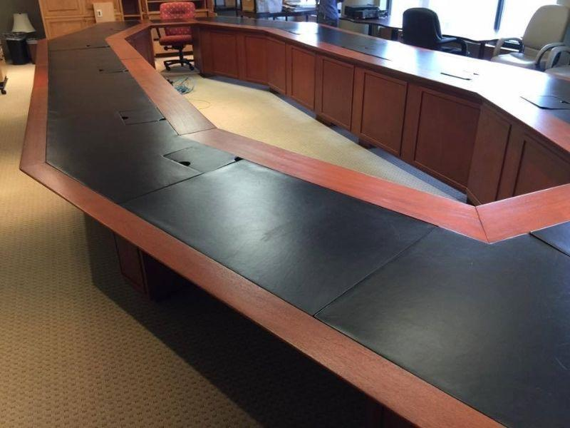 Beautiful Cherry Executive Boardroom Table