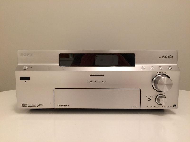 sony STR-DA3000ES 7.1 receiver, 150w per channel