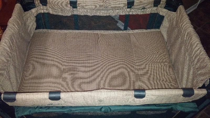 Excellent Condition-Eddie Bauer Playpen,Bassinet,Folds,Unisex