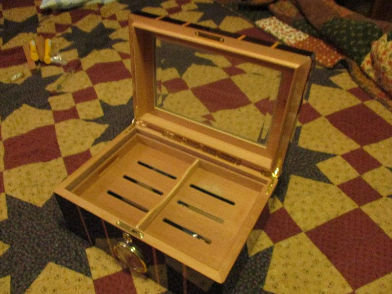 Two Cigar Humidors For Sale