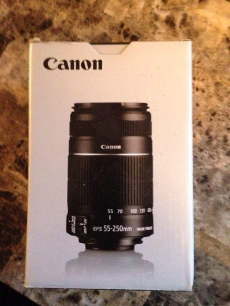 Canon EFS 55 - 250mm