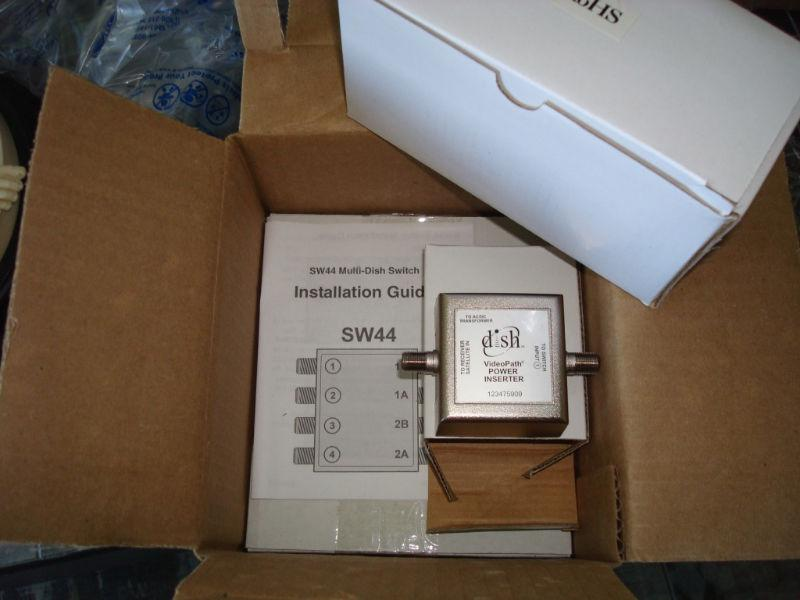 Bell/Dish Satellite SW44 multi switch - Condition new