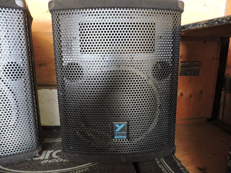 Yorkville Elite E358 Speakers