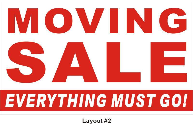 Moving/Yard Sale - Saturday Sept 24th *8:30am to Noon