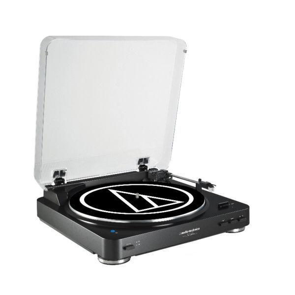 Audio Technica LP60 Turntable, Black with Bluetooth