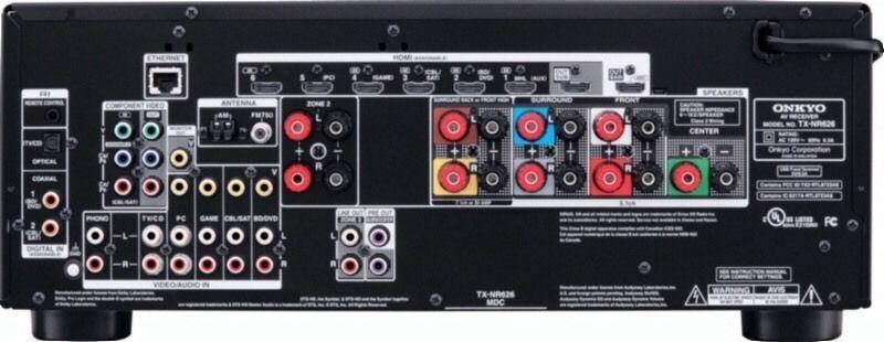 Onkyo TX-NR626 AV Receiver