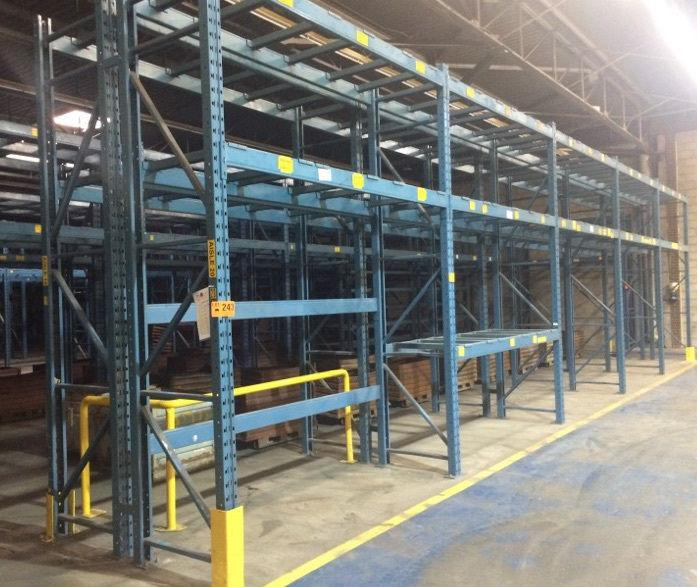 Redi Rack Frames And Beams for pallet rack on sale