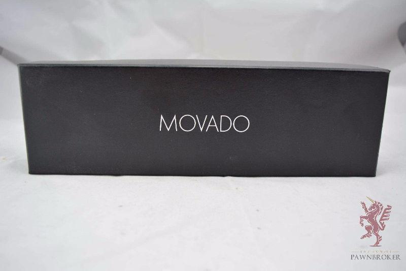 The Honest Pawnbroker - Movado Men's Black Leather Strap