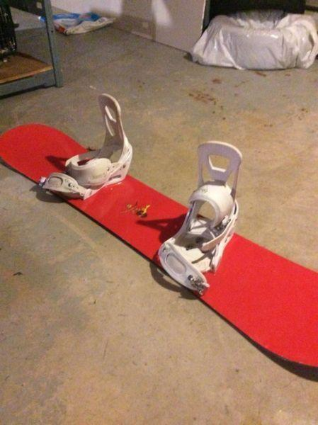 Burton snowboard 142