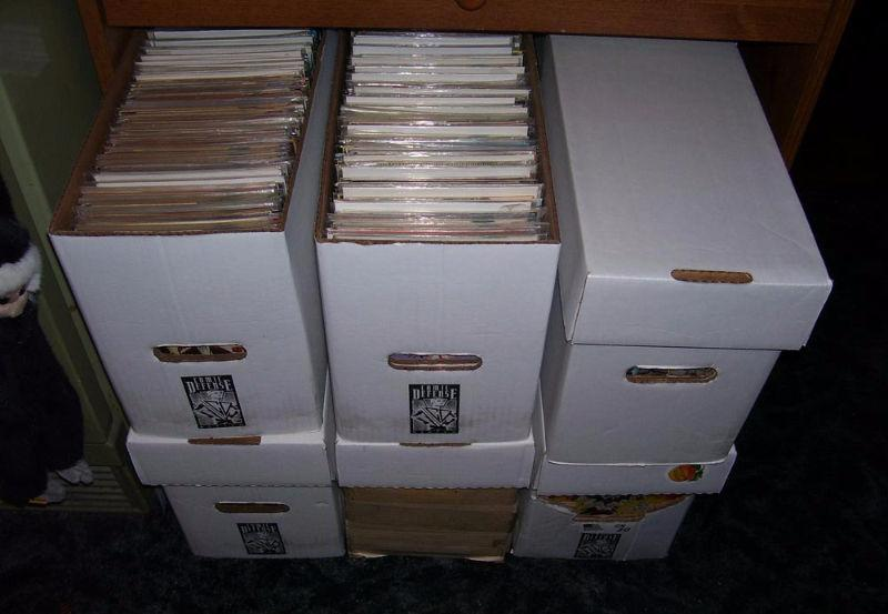 Lot of 340+ comic books