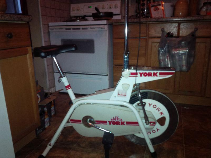 Vintage Stationary York Bike