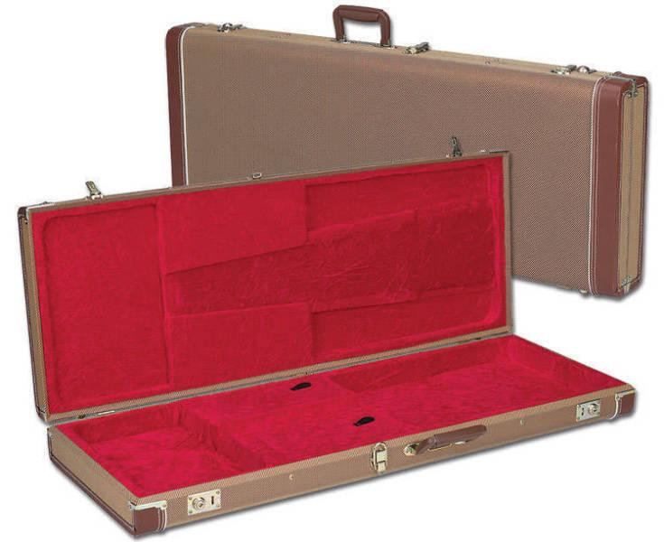 Tweed case for Fender Tele or Strat & others