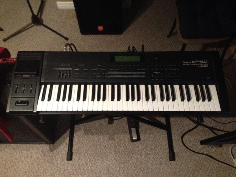 Roland XP-60 Workstation Keyboard W/ Case For Sale!